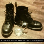 Aculeos - Uříznu ti hlavu sklem!